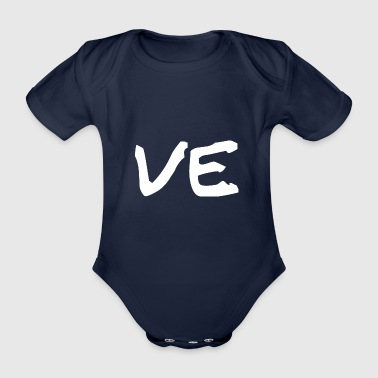 Love Part 2 partner shirt / gift idea - Organic Short-sleeved Baby Bodysuit