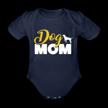 Proud Dog Mom Mother's day - Baby Bio-Kurzarm-Body