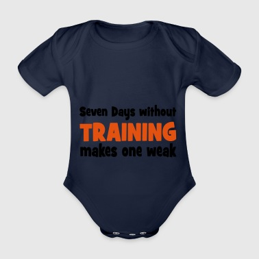 2541614 15607399 training - Baby Bio-Kurzarm-Body
