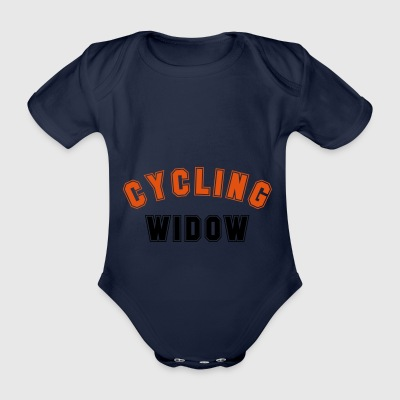 2541614 14559510 cycling - Organic Short-sleeved Baby Bodysuit