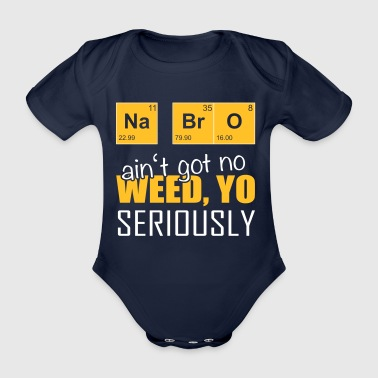 Chemistry student and science fans drugs - Organic Short-sleeved Baby Bodysuit