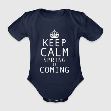 Spring | The spring comes - Organic Short-sleeved Baby Bodysuit