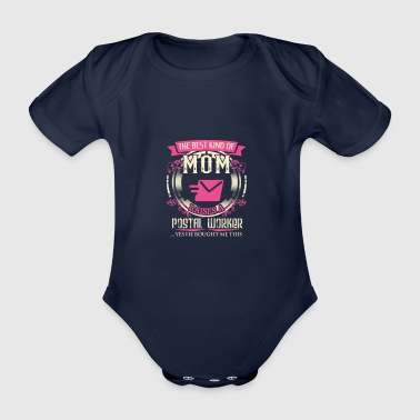 post mom - Organic Short-sleeved Baby Bodysuit