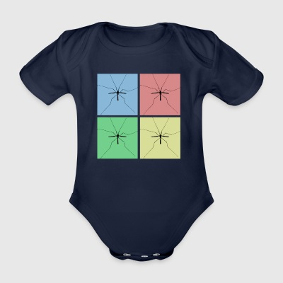 Schuster - Collage - Baby Bio-Kurzarm-Body