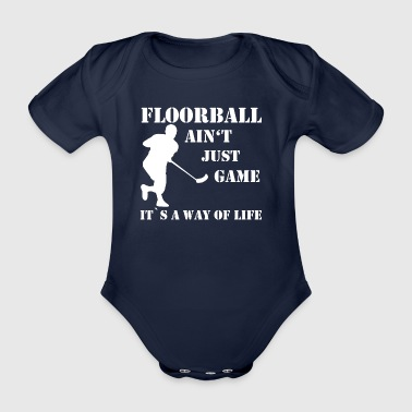 Floorball - Baby Bio-Kurzarm-Body