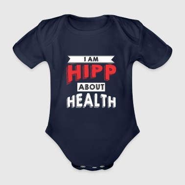 I am HIPP about Health 2 - Organic Short-sleeved Baby Bodysuit