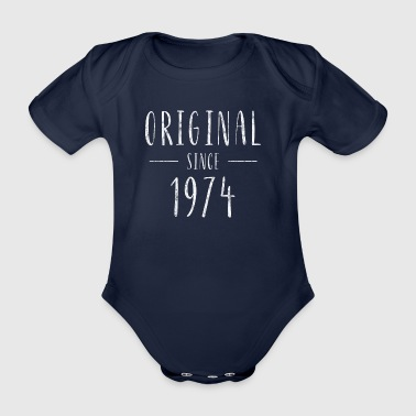 Original seit 1974 (distressed) - Baujahr 1974 - Baby Bio-Kurzarm-Body