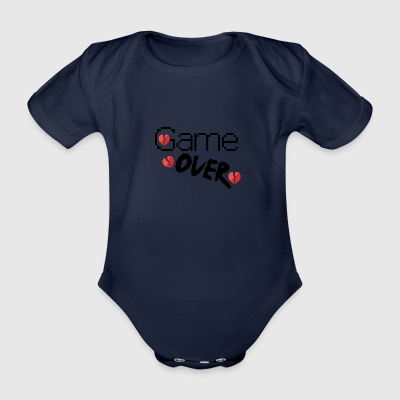 Game over - Ekologisk kortärmad babybody