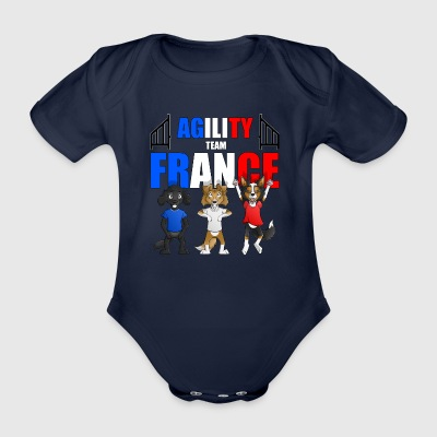 Agility United States - Organic Short-sleeved Baby Bodysuit