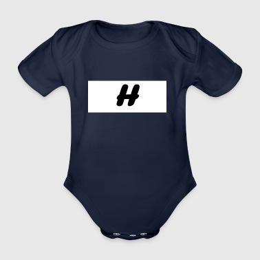 H - Organic Short-sleeved Baby Bodysuit