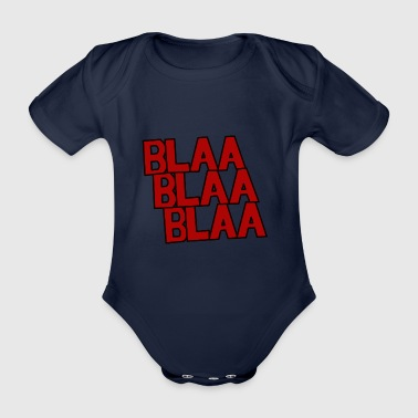 RedBlaa - Organic Short-sleeved Baby Bodysuit