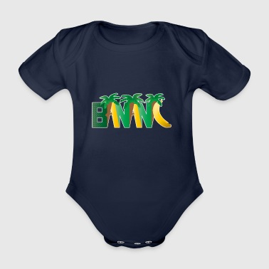BANANA - Organic Short-sleeved Baby Bodysuit