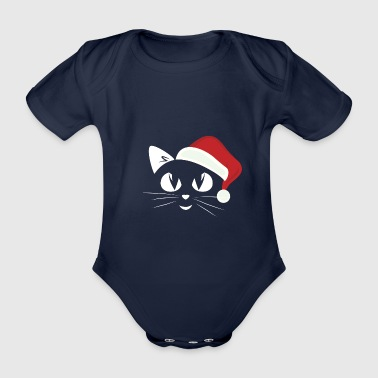 Santa's Little Helper - Økologisk kortermet baby-body