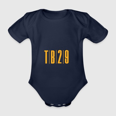 TB 29 - Organic Short-sleeved Baby Bodysuit