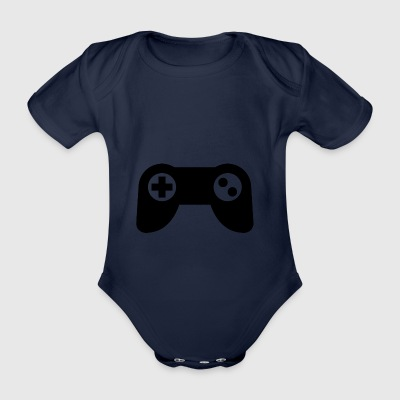 Game controller - Organic Short-sleeved Baby Bodysuit