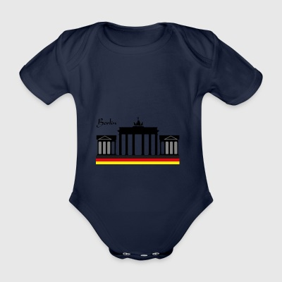 Berlin Gate - Organic Short-sleeved Baby Bodysuit