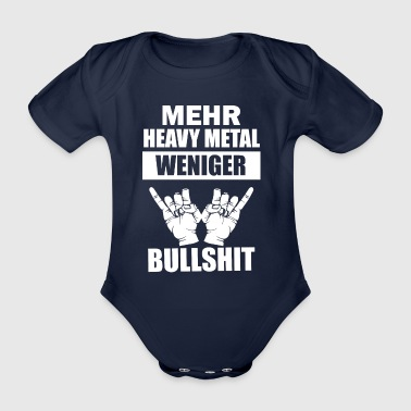 Mehr Heavy Metal - Baby Bio-Kurzarm-Body