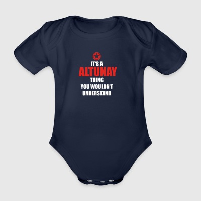 Geschenk it s a thing birthday understand ALTUNAY - Baby Bio-Kurzarm-Body