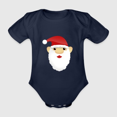 Santa Claus - Organic Short-sleeved Baby Bodysuit