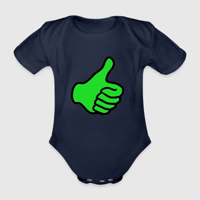 positive - Organic Short-sleeved Baby Bodysuit