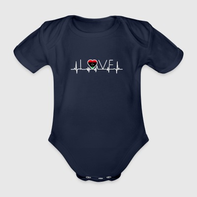 home roots queen love from heart Libyen png - Baby Bio-Kurzarm-Body