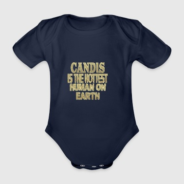 Candis - Organic Short-sleeved Baby Bodysuit