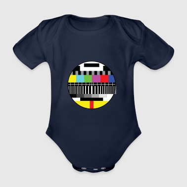 pause Signal - Organic Short-sleeved Baby Bodysuit
