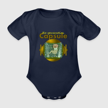 Capsule - Organic Short-sleeved Baby Bodysuit