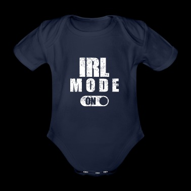 IRL Fashion On - Økologisk kortermet baby-body
