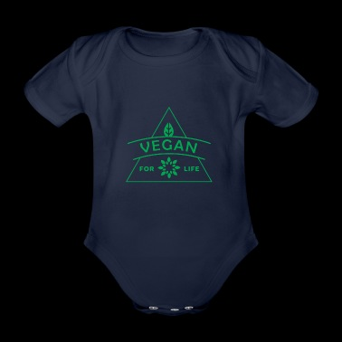 Vegan Life - Organic Short-sleeved Baby Bodysuit
