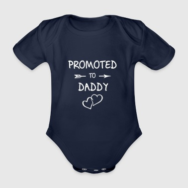 Future father, pregnancy, offspring - Organic Short-sleeved Baby Bodysuit