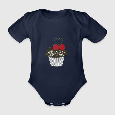 muffin - Organic Short-sleeved Baby Bodysuit