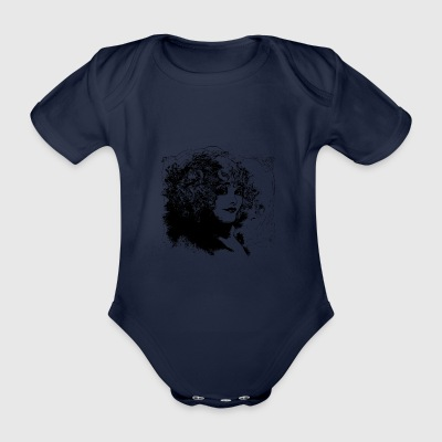 Frau Locken - Baby Bio-Kurzarm-Body