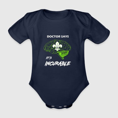 Scout Scout - Organic Short-sleeved Baby Bodysuit