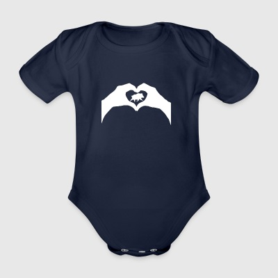 To hunt - Organic Short-sleeved Baby Bodysuit