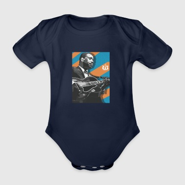 Wes - Organic Short-sleeved Baby Bodysuit