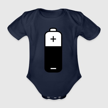 2541614 15363048 battery - Organic Short-sleeved Baby Bodysuit