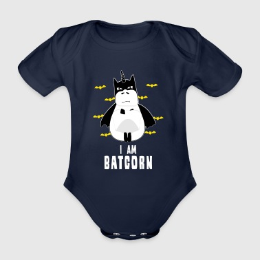 BATCORN unicorn funny new cheap christmas bat bats - Baby Bio-Kurzarm-Body