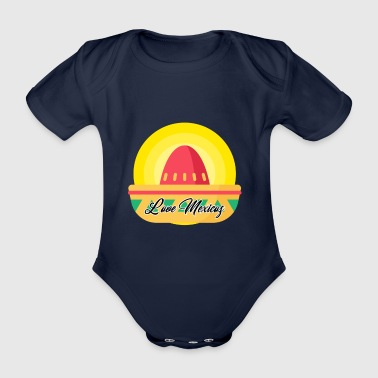 LOVE MEXICO - Organic Short-sleeved Baby Bodysuit