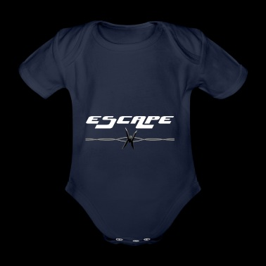 Escape - Økologisk kortermet baby-body