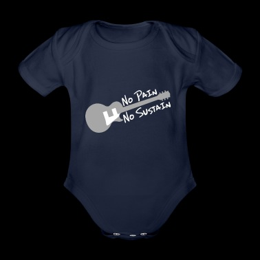 No Pain no Sustain knows - Organic Short-sleeved Baby Bodysuit