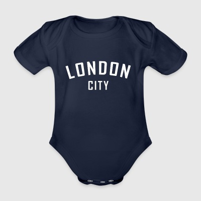 London City. England. Gifts for friend & family - Organic Short-sleeved Baby Bodysuit