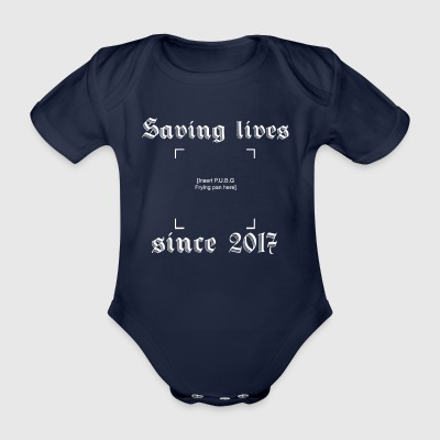 Saving lives since 2017 - Organic Short-sleeved Baby Bodysuit