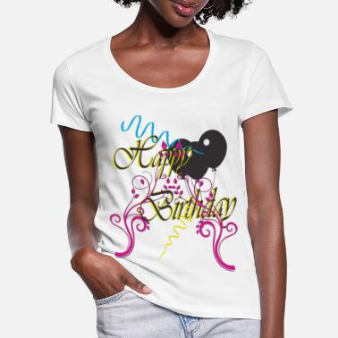 B Day B day - Women's Scoop-Neck T-Shirt