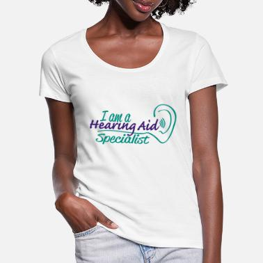 Aids Hearing aid specialist - Women's Scoop-Neck T-Shirt