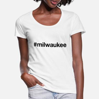 Milwaukee MILWAUKEE - Vrouwen U-hals T-Shirt