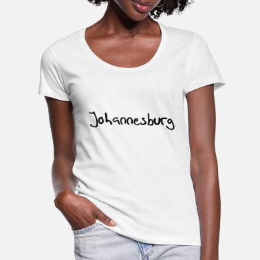 Johannesburg Johannesburg - Women's Scoop-Neck T-Shirt