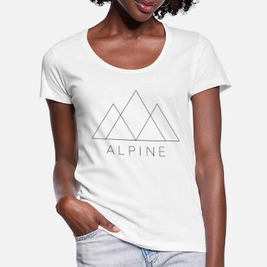 Alpinism ALPINE - Women's Scoop-Neck T-Shirt