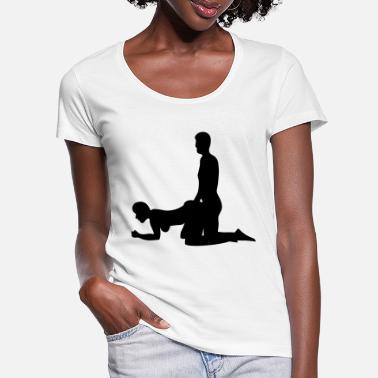 Kama Sutra doggy style - Women's Scoop-Neck T-Shirt