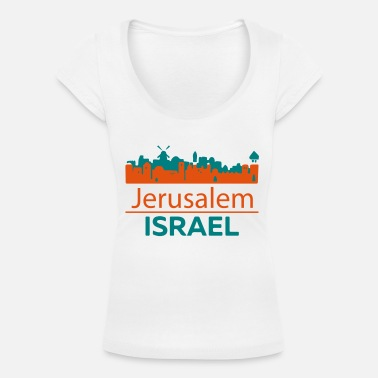 Jerusalem Jerusalem - Women's Scoop-Neck T-Shirt